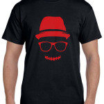 t shirt cap n spec  close black n red a
